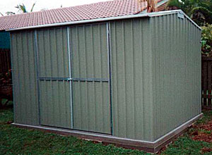 3 x 2 metre shed