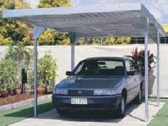 Single Skillion Carport