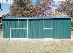 6x3m colorbond shed