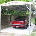 Single Gable Carport