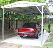 Single Gable Carport